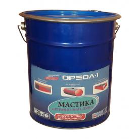 Мастика бітумно-масляна Ореол-1 МБ-50 морозостійка 20 кг