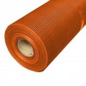 Сетка фасадная BFM 160 г/м2 5х5 мм 1х50 м оранжевая
