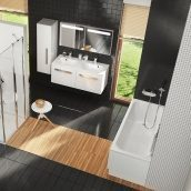 Ванна акриловая RAVAK Chrome прямоугольная 150х70 см