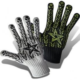 Перчатки трикотажные ТК-Спецодяг ПВХ-рисунок ЕВРО