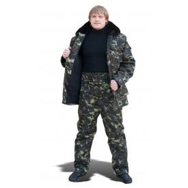 Штани утеплені ТК-Спецодяг саржа камуфльовані