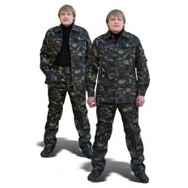 Костюм камуфльований ТК-Спецодяг саржа