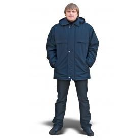 Куртка модельная ТК-Спецодяг плащевая ВО синяя