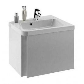 Шкафчик под умывальник RAVAK 10 градусов SD R 650 650x535x450 мм серый