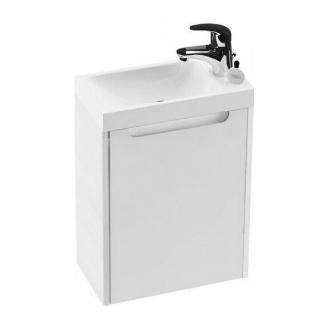 Шкафчик под миниумывальник RAVAK Classic SD 400 400x220x500 мм белый