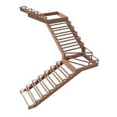 Металлокаркасы для лестниц