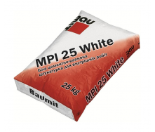 Штукатурка Baumit MPI 25 White 25 кг білий
