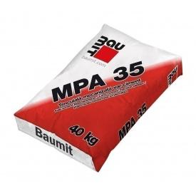 Штукатурка Baumit MPA 35 25 кг серый
