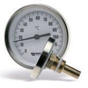 Термометр біметалічний з занурювальний гільзою WATTS T63/50