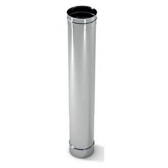 Труба димохідна нержавіюча сталь L-1 m D-100-450 m m 1 мм Fire Work