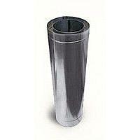 Труба-подовжувач з теплоізоляцією нерж/нерж Версія Люкс L-0,5-1 м 0,8 мм