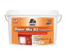 Краска Dufa Super Mix В3 Transparent 10 л прозрачный