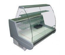 Холодильная витрина РОСС Siena-K кондитерская 1,1-1,5 с выпуклым стеклом