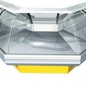 Холодильная витрина РОСС Sorrento-УН угловая наружная 1960х1190х1260 мм 525 Вт