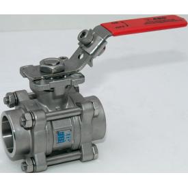 Шаровой кран ABO valve ART.945 DN 40 приварной