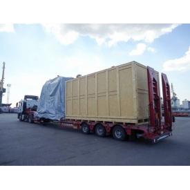 Перевезення обладнання тралом