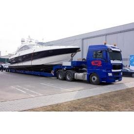 Перевезення яхти тралом