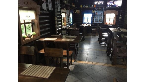 """Наша мебель в интерьере ресторана """"ХАТА GRILL"""" по трассе Киев-Житомир"""