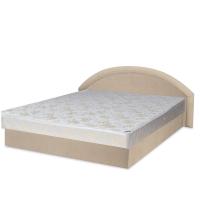 Ліжко Віка Рів'єра 160 з матрацом матрацна тканина 183х202х80 см