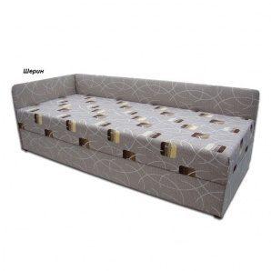 Кровать Вика Болеро с матрасом мебельная ткань 82х202x65 см