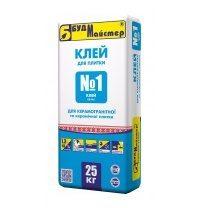 Суміш БудМайстер КЛЕЙ №1 КВ 25 кг
