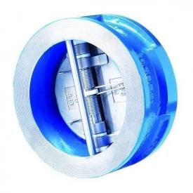 Обратный клапан ABO valve 700 двухстворчатый PN 16 DN 80