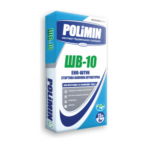 Штукатурка Polimin Еко-штук ШВ-10 23 кг