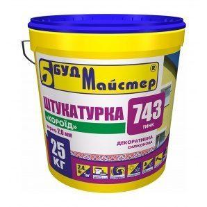Штукатурка БудМайстер ТИНК-743 база А короед 25 кг