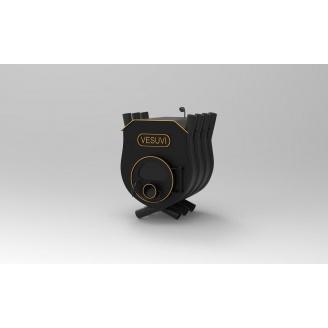 Печь калориферная «VESUVI» с варочной поверхностью и со стеклом +перфорация «03», 27 кВт-750 м3
