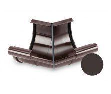 Кут внутрішній 135 градусів Galeco PVC 90/50 90 мм темно-коричневий