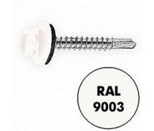 Саморез по металлу Gunnebo Info-Global 4,8х19 мм RAL 9003 250 шт