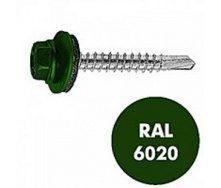 Саморез по металлу Gunnebo Info-Global 4,8х19 мм RAL 6020 250 шт