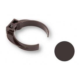 Кронштейн трубы ПВХ Galeco PVC 90/50 50 мм темно-коричневый