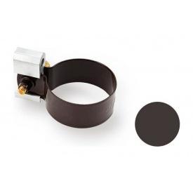 Кронштейн трубы металлический Galeco PVC 90/50 50 мм темно-коричневый
