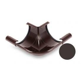 Кут внутрішній 90 градусів Galeco PVC 90/50 90х154 мм темно-коричневий