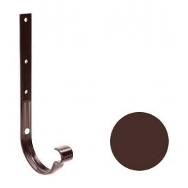 Кронштейн ринви металевий Galeco PVC 110/80 107х295 мм шоколадно-коричневий