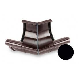Кут внутрішній 135 градусів Galeco PVC 110/80 107 мм чорний