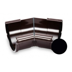 Кут зовнішній 135 градусів Galeco PVC 110/80 107 мм чорний