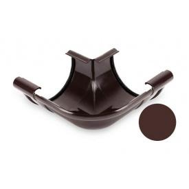 Кут внутрішній 90 градусів Galeco PVC 110/80 107х185 мм шоколадно-коричневий