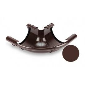 Кут зовнішній регульований 90-150 градусів Galeco PVC 130 132х220 мм шоколадно-коричневий