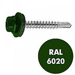 Саморез по металлу Wkret-met 4,8х19 мм RAL 6020 250 шт