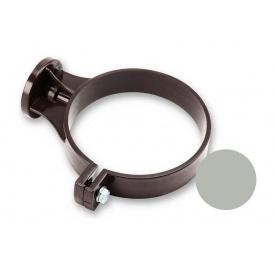 Кронштейн труби ПВХ Galeco PVC 150/100 100 мм світло-сірий