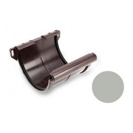 Муфта ринви Galeco PVC 150/100 148х150 мм світло-сірий