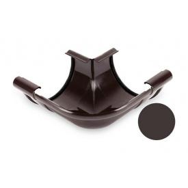 Кут внутрішній 90 градусів Galeco PVC 150/100 148х242 мм темно-коричневий