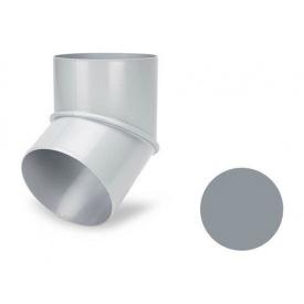 Коліно 60 градусів Galeco PVC 180/125 125 мм світло-сірий