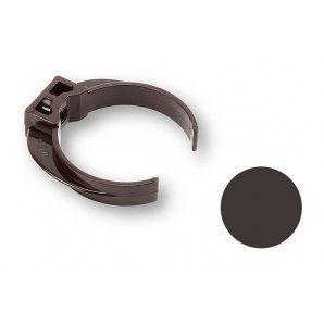 Кронштейн труби ПВХ Galeco PVC 90/50 50 мм темно-коричневий