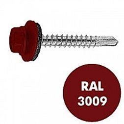 Саморез по дереву Gunnebo Info-Global 4,8х35 мм RAL 3009 250 шт