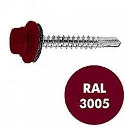 Саморез по металлу Gunnebo Info-Global 4,8х19 мм RAL 3005 250 шт