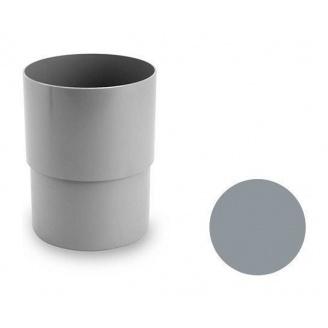 З'єднувальна муфта Galeco PVC 180/125 125х165 мм світло-сірий
