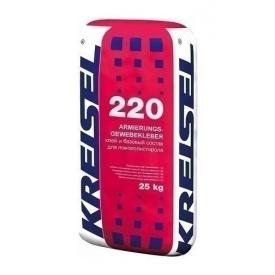 Клей KREISEL Armierungs-Gewebekleber 220 ЗИМА 25 кг